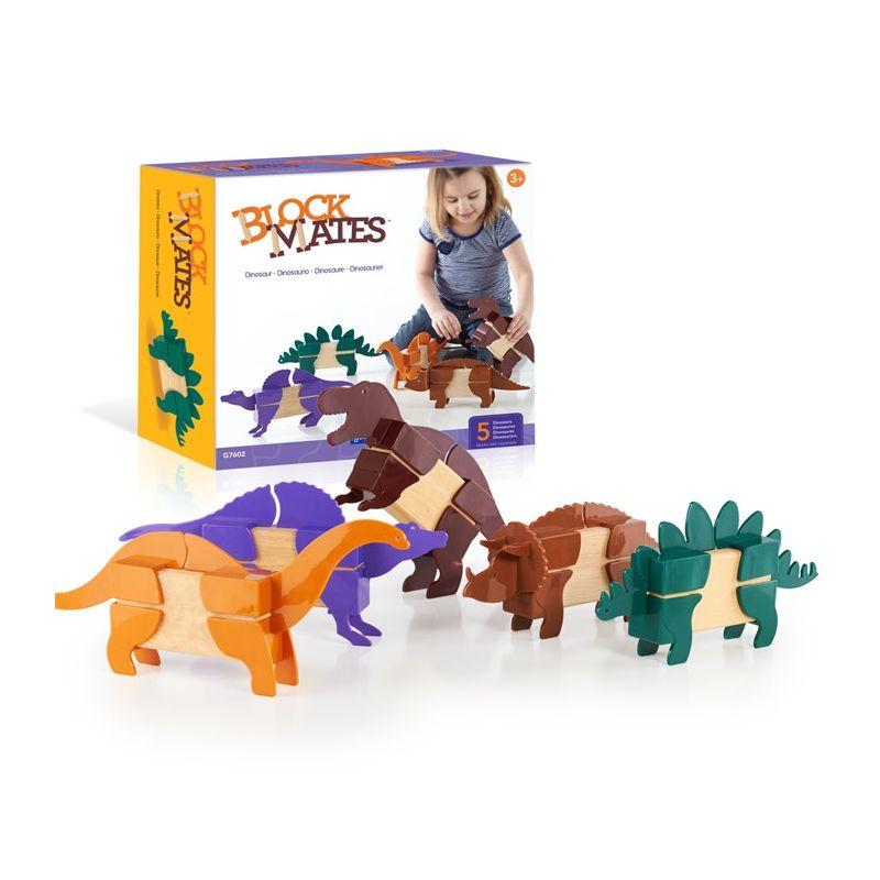 Block Mates® - Dinosaur (5...