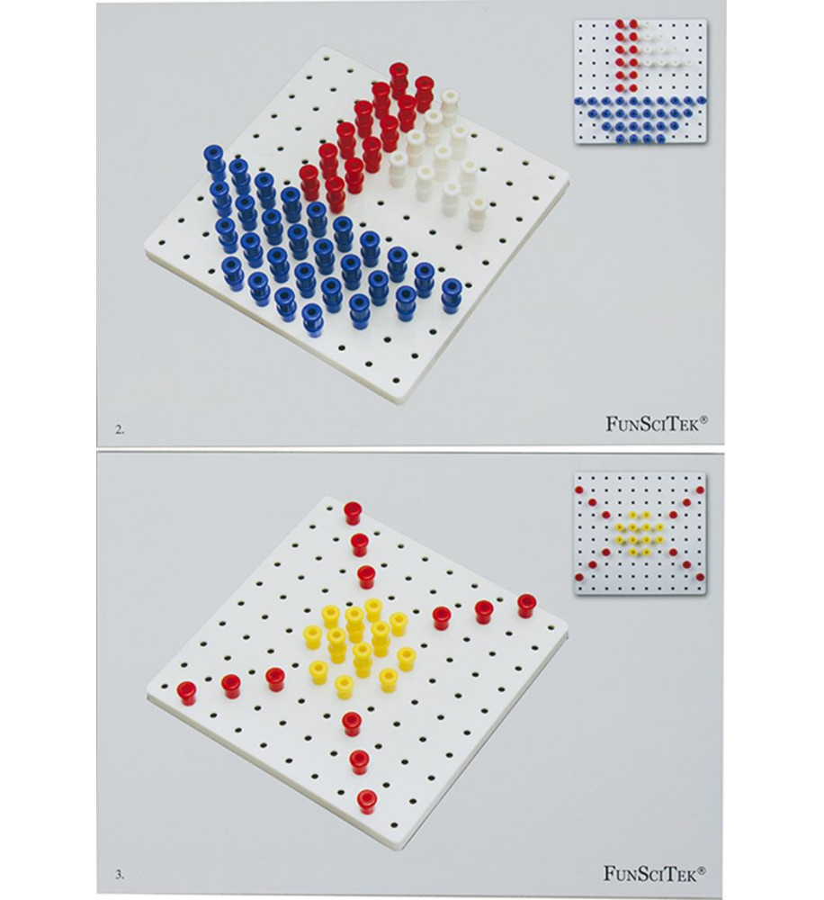 3D PEG BOARD (200xPegs...