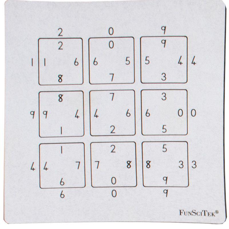 Wooden Mind Teaser - Numbers