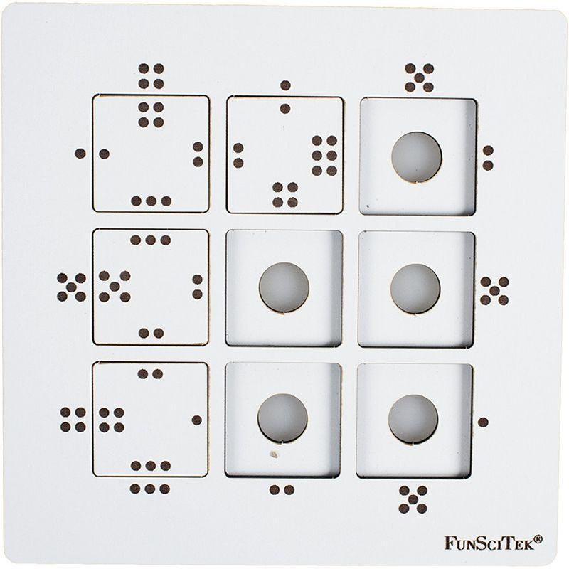 Wooden Mind Teaser - Dots