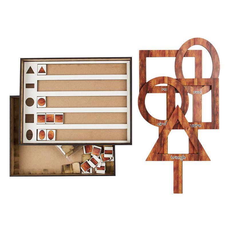 Wood - Shape Hunt Set (Find...