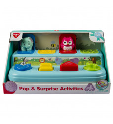 Pop Up Animals - Activity Toy