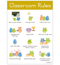 Poster - Classroom Rules