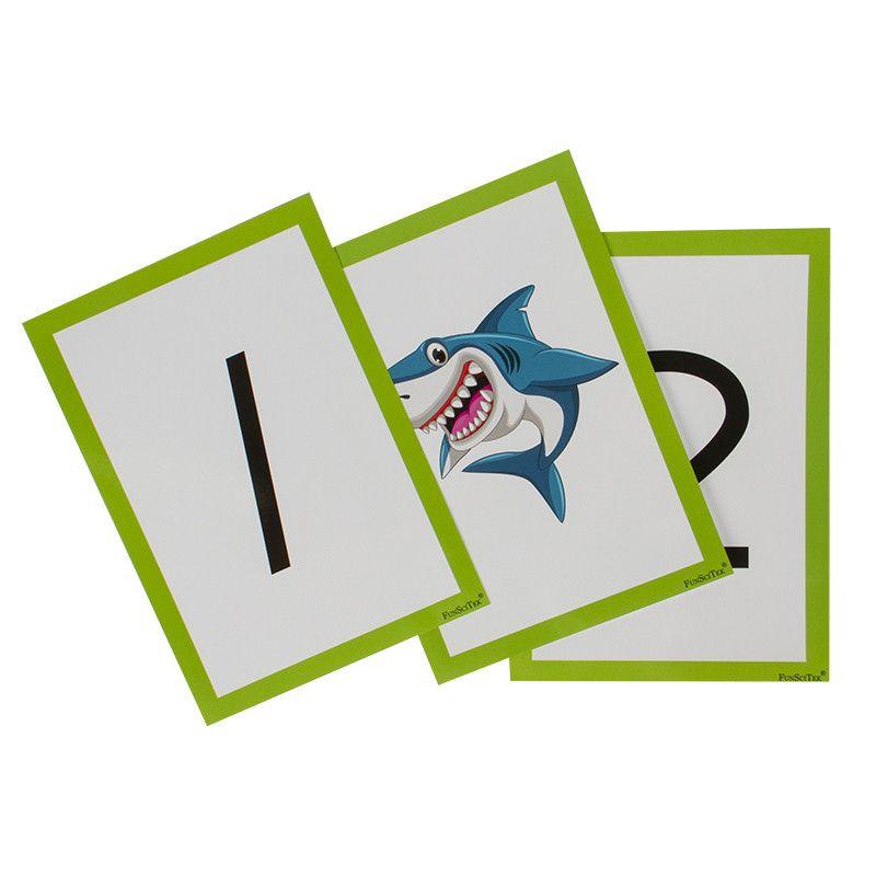 Flash Cards - Number 1-10...