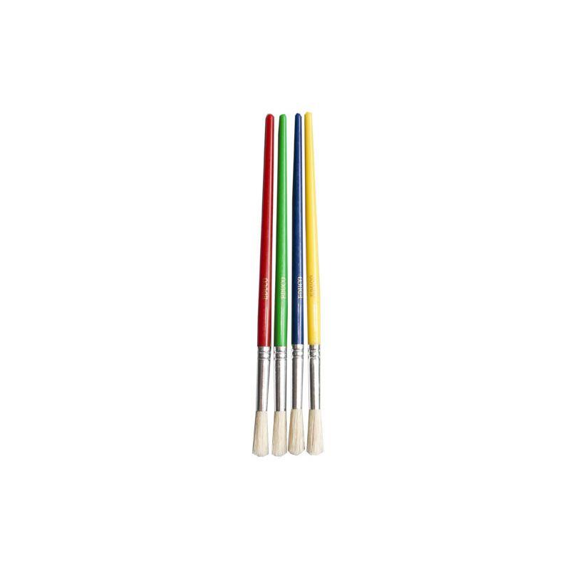 Brushes Coloured Midi (4pc)