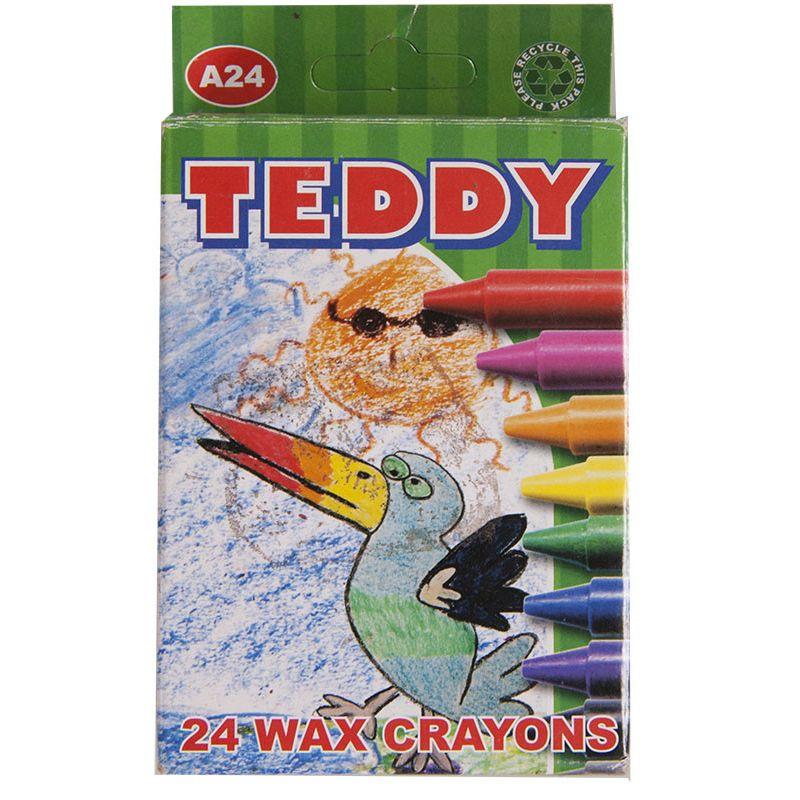 Wax Crayons - A24 Thin (24pc)