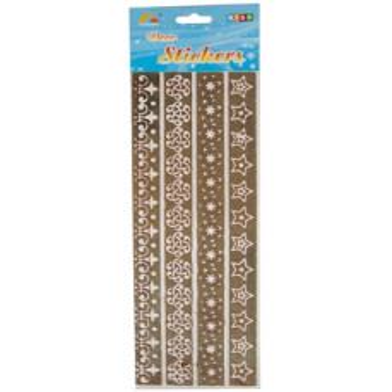 Ribbon Stick-on (4x30cm) Ass