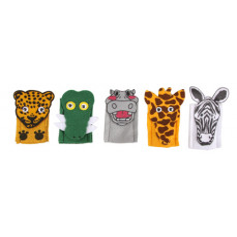 Finger Puppets - Wild...
