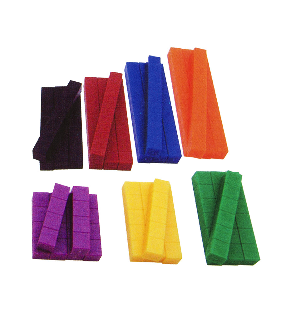 Weighted Number Rods (74pc)