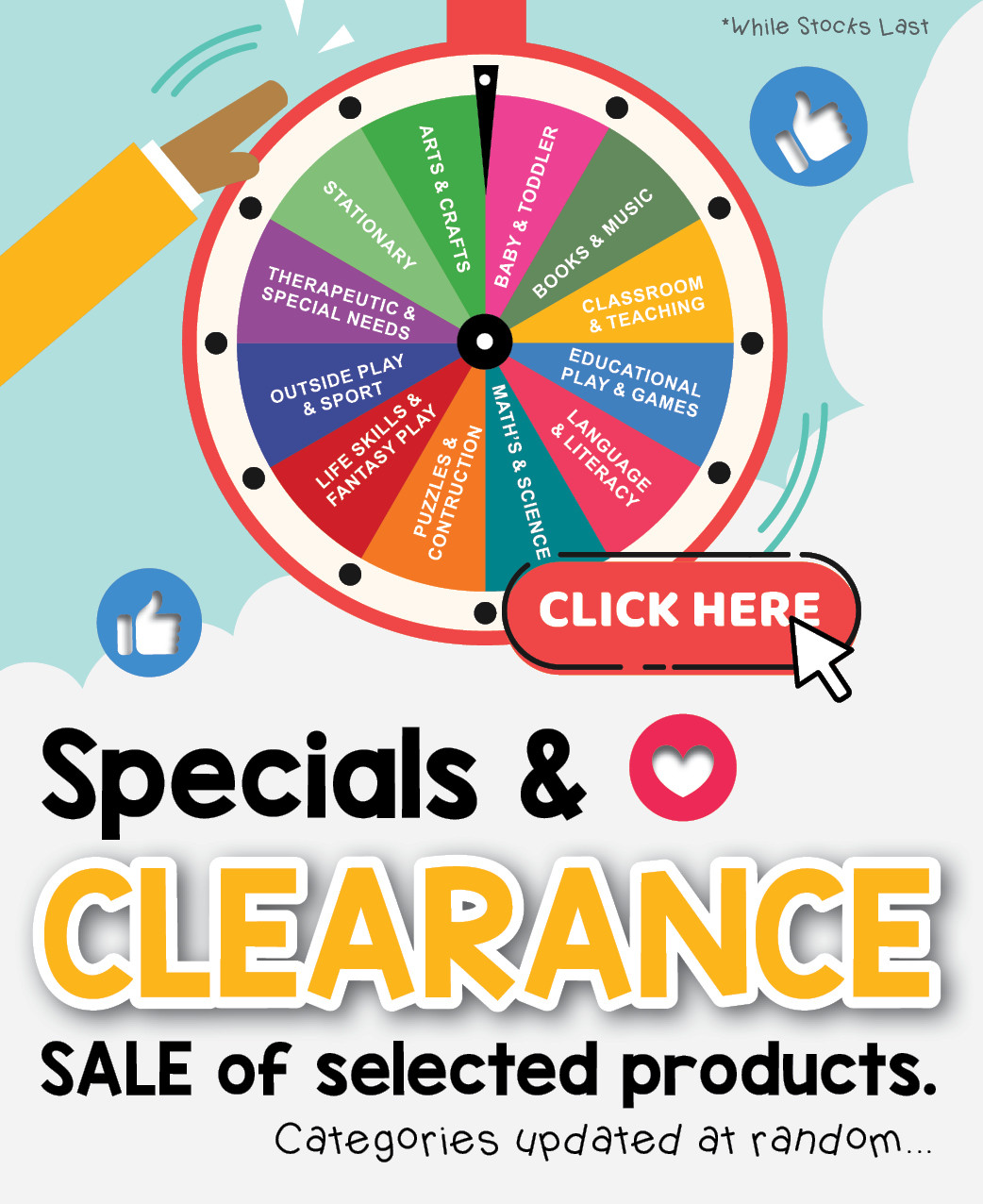 Specials & Clearance SALE